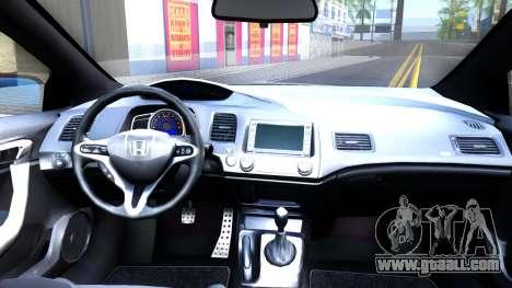 Honda Civic Si for GTA San Andreas back view