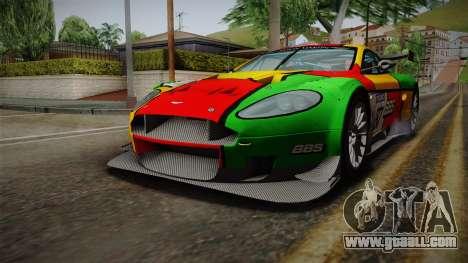 Aston Martin Racing DBR9 2005 v2.0.1 for GTA San Andreas