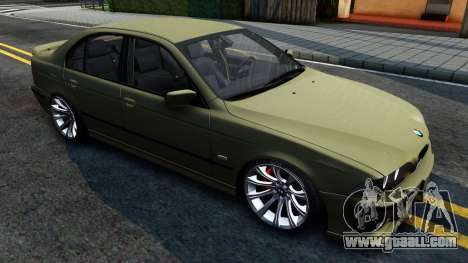 BMW 530D E39 for GTA San Andreas left view