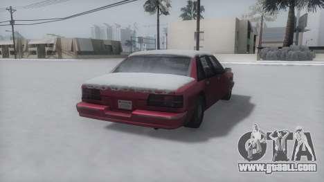 Premier Winter IVF for GTA San Andreas left view