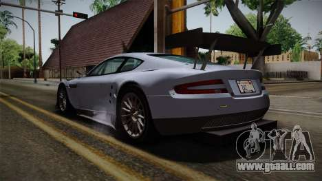 Aston Martin Racing DBR9 2005 v2.0.1 for GTA San Andreas