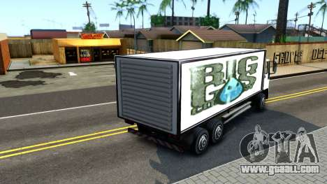 DFT-30 Box Truck for GTA San Andreas back left view