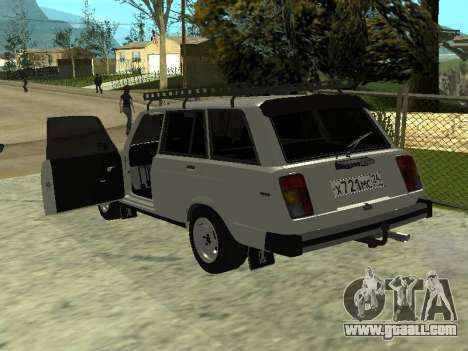 VAZ 2104 Krasnoyarsk for GTA San Andreas back left view
