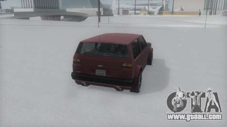 Club Winter IVF for GTA San Andreas left view