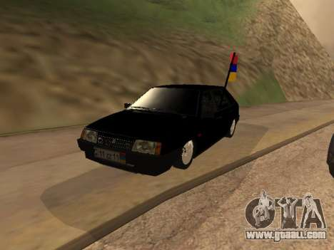 VAZ 2109 Armenian for GTA San Andreas