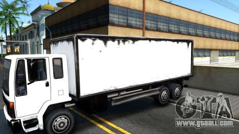 DFT-30 Box Truck for GTA San Andreas back view