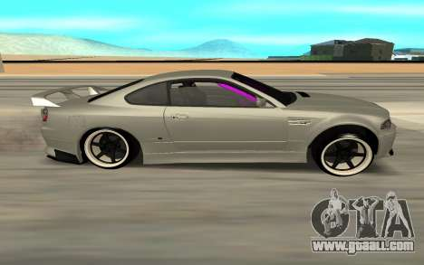 Nissan Silvia S15 Face BMW 46 for GTA San Andreas back left view