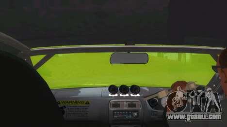 Azuki Azusa Itasha Nissan Silvia Vinyl for GTA San Andreas inner view