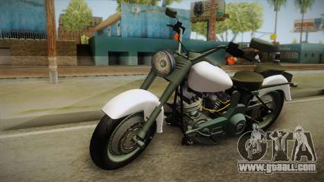 Harley-Davidson FLSTF 1990 v1.1 for GTA San Andreas