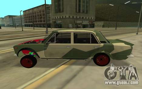 VAZ 2103 BATTLE CLASSIC for GTA San Andreas back left view