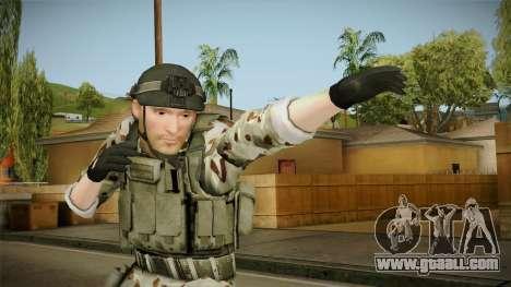 Resident Evil ORC Spec Ops v5 for GTA San Andreas