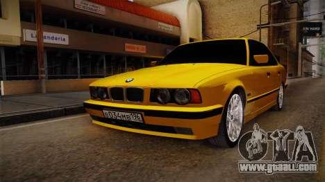 BMW 5-er E34 for GTA San Andreas