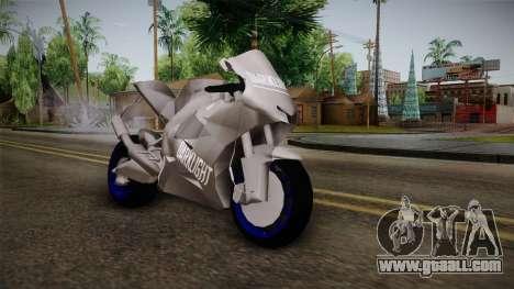 Dark Light Motorcycle for GTA San Andreas