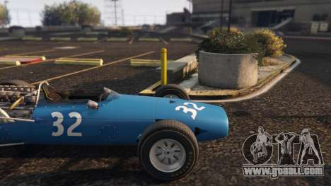 GTA 5 Cooper F12 1967 v2 right side view
