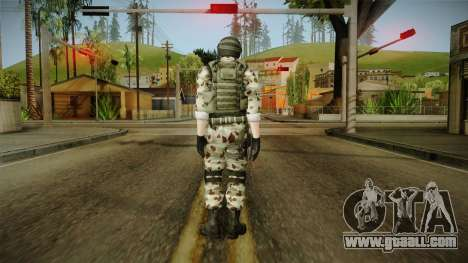 Resident Evil ORC Spec Ops v6 for GTA San Andreas third screenshot