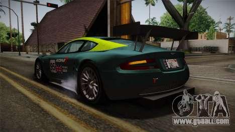 Aston Martin Racing DBR9 2005 v2.0.1 for GTA San Andreas wheels