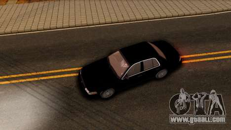 Ford Crown Victoria Detective 2008 for GTA San Andreas inner view