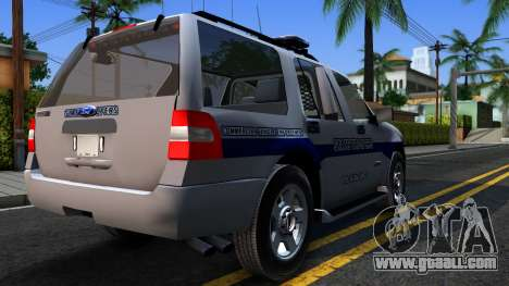 Ford Expedition SAST CVE 2008 for GTA San Andreas right view