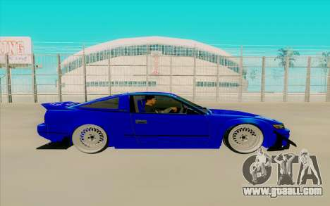 Nissan 240SX for GTA San Andreas back left view