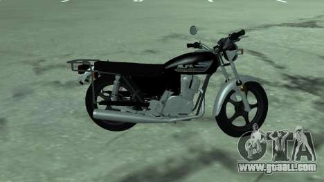 Moped alpha v.0.1 for GTA San Andreas left view