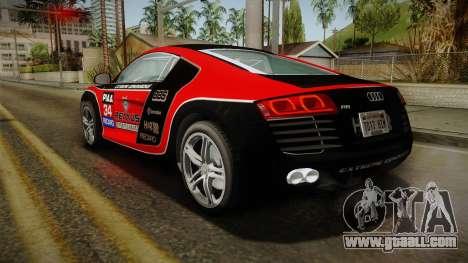 Audi R8 Coupe 4.2 FSI quattro EU-Spec 2008 Dirt for GTA San Andreas