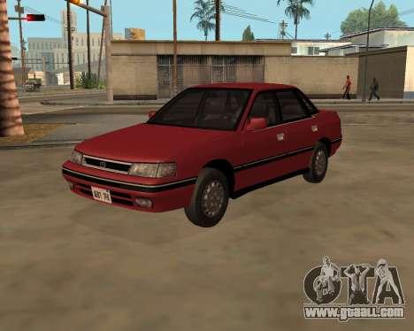 Subaru Legacy 1992 for GTA San Andreas