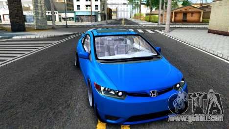 Honda Civic Si for GTA San Andreas left view