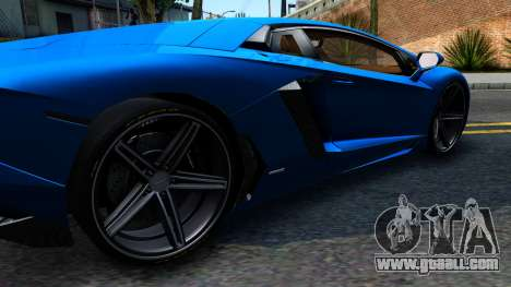 Lamborghini Aventador LP700-4 Light Tune for GTA San Andreas left view