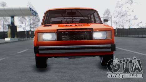 VAZ 2105 patch 3.0 for GTA San Andreas back left view
