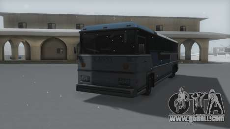 Bus Winter IVF for GTA San Andreas right view