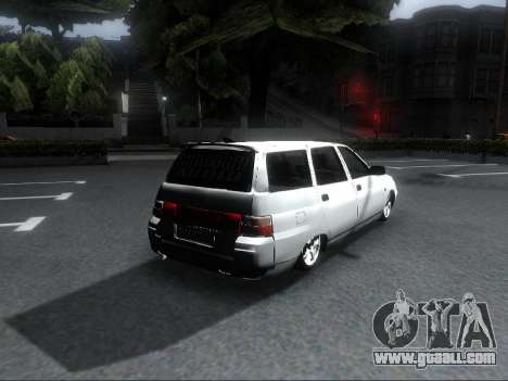 VAZ 2111 Audio for GTA San Andreas left view