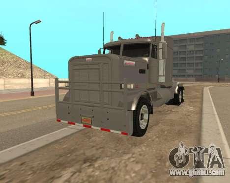 Dude Road Train for GTA San Andreas