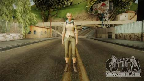 Resident Evil 6 - Sherry School Outfit for GTA San Andreas