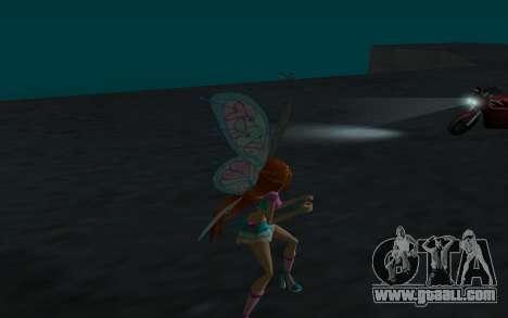 Bloom Believix from Winx Club Rockstars for GTA San Andreas forth screenshot