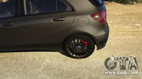 GTA 5 Mercedes-Benz A45 AMG Edition rear right side view