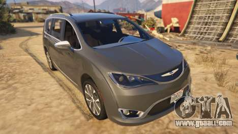 Chrysler Pacifica Limited 2017 for GTA 5