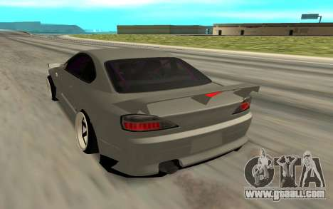 Nissan Silvia S15 Face BMW 46 for GTA San Andreas left view