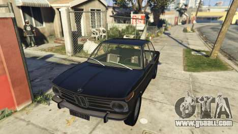 BMW 2002 72 for GTA 5