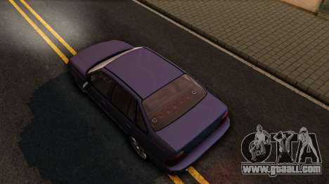 Daewoo Cielo 2001 for GTA San Andreas back view