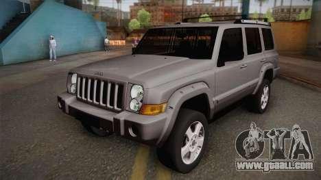 Jeep Commander 2010 for GTA San Andreas