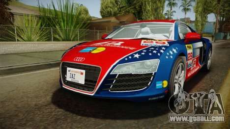 Audi R8 Coupe 4.2 FSI quattro EU-Spec 2008 Dirt for GTA San Andreas