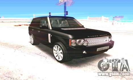 Land Rover 2010 for GTA San Andreas