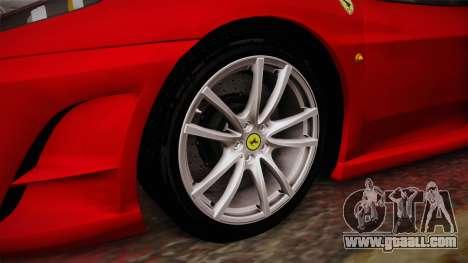 Ferrari F430 for GTA San Andreas back view