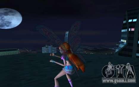 Bloom Believix from Winx Club Rockstars for GTA San Andreas second screenshot