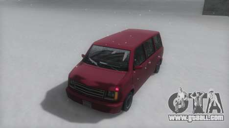 Moonbeam Winter IVF for GTA San Andreas back left view