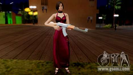 Resident Evil 6 - Ada Dress for GTA San Andreas third screenshot