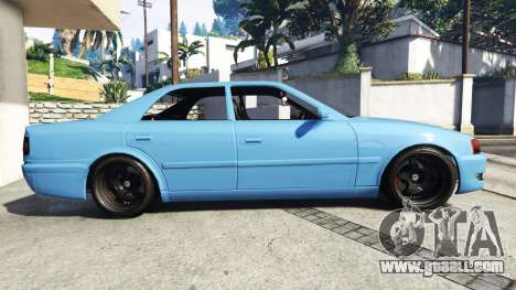 GTA 5 Toyota Chaser (JZX100) v1.1 [add-on] left side view