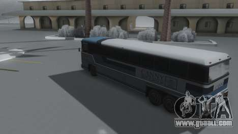 Bus Winter IVF for GTA San Andreas left view