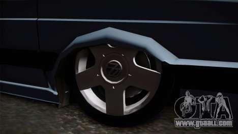 Volkswagen Saveiro 1994 for GTA San Andreas back view