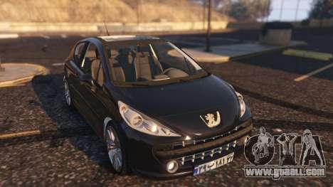 Peugeot 207 for GTA 5